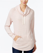 Ultra Flirt Juniors' Cowl-Neck Tunic Top