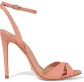 Schutz Dollie Suede Sandals