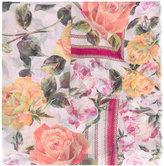 Dolce & Gabbana rose print scarf - women - Silk - One Size