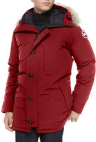 Canada Goose Chateau Fur-Trimmed Parka, Red