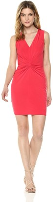 BCBGeneration Women's Twist Front Jersey Dress