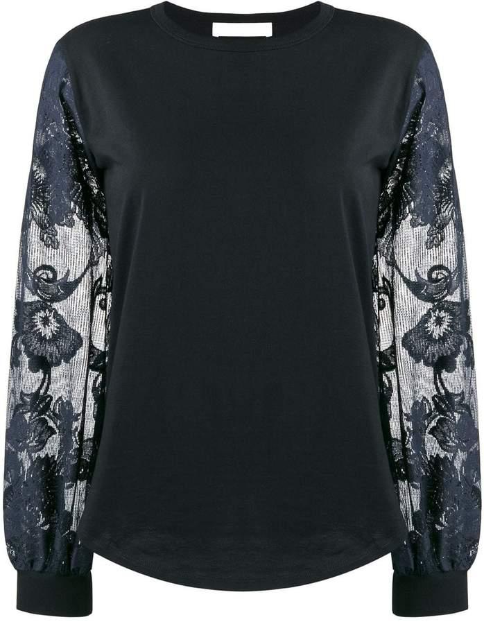 d2b9ac5d5f floral-sleeve top