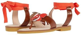 Elephantito Butterfly Thong Sandal (Toddler/Little Kid/Big Kid) (Poppy) Girl's Shoes
