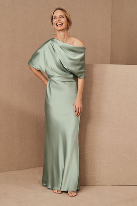 Anthropologie Amsale Pryce Dress By in Mint Size 2