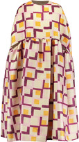Emilia Wickstead Margo printed woven cape