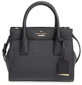 Kate Spade 'Cameron Street - Mini Candace' Leather Satchel - Black