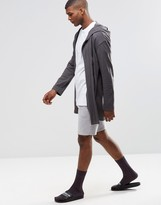 Asos Loungewear Mid Length Jersey Shorts With Stripe