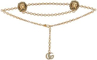 Gucci Chain Belt in Gold | FWRD