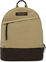 WANT Les Essentiels Beige Canvas Kastrup Backpack