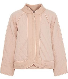 Sea Romy Quilted Cotton-canvas Jacket