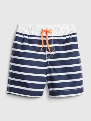 Gap Toddler Stripe Swim Trunks