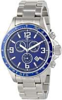 Oceanaut Men's 43mm Steel Bracelet & Case Quartz Dial Chronograph Watch OC3321