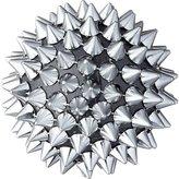 CB2 Spike Ball Gunmetal Ornament
