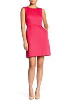 Tahari Structured Faille Sheath Dress (Petite)
