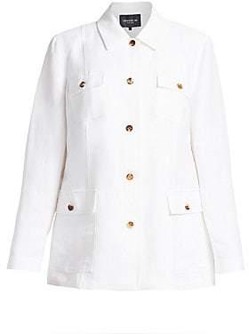 Lafayette 148 New York Lafayette 148 New York, Plus Size Women's Tamaya Denim Jacket