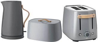 Stelton Emma Toaster, Kettle and Bread Box Set