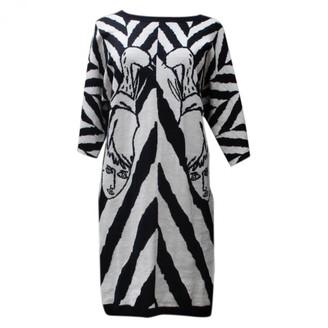 JC de CASTELBAJAC Black Wool Dress for Women