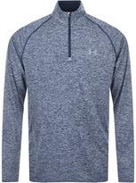 Under Armour Half Zip Tech Sweatshirt Blue