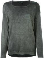 Avant Toi round neck jumper - women - Silk/Cashmere - XS