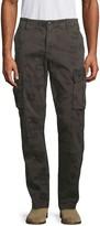 Hudson Jeans Camo-Print Stretch-Cotton Cargo Pants