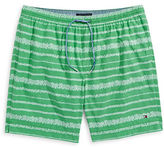 Tommy Hilfiger Big and Tall Coolidge Striped Swim Trunks