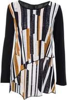 Dorothy Perkins Womens *Quiz Multi Coloured Long Sleeve Top