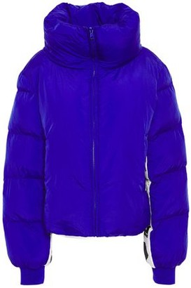 Love Moschino Monogram-trimmed Quilted Shell Jacket
