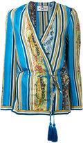 Etro kimono blouse - women - Silk/Acetate - 40