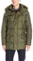 Andrew Marc Men's Stowaway Ultra Down Parka