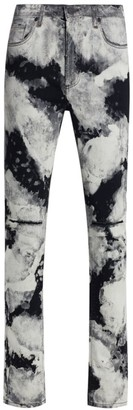 Monfrère Greyson Skinny-Fit Distressed Jeans