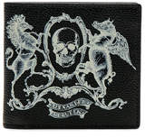 Alexander McQueen Coat of Arms Billfold Wallet