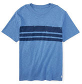 Ralph Lauren Boys 8-20 Distressed Stripe T-Shirt