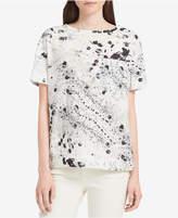 Calvin Klein Jeans Splatter-Print T-Shirt