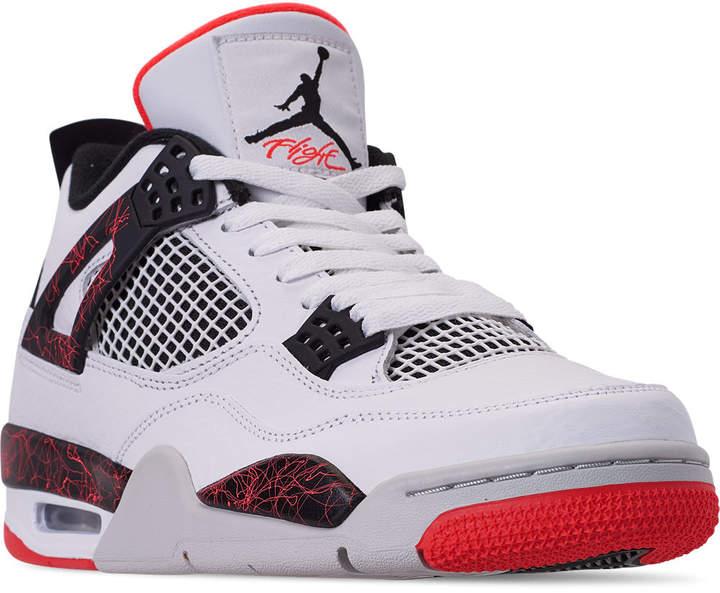Jordan Men's Air Retro 4 Shoes Basketball xBrdoeQCEW