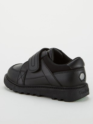 Very ToeZone at V by VeryBoys Chunky Sole Leather School Shoe - Black