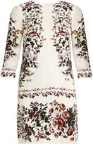 Erdem Emma floral-print silk-crepe dress