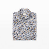 Club Monaco Slim Short-Sleeve Floral Shirt