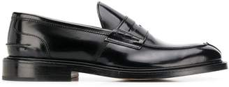 Tricker's Trickers James Black leather loafers