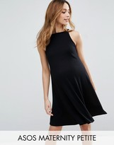 Asos PETITE Rib Swing Mini Dress