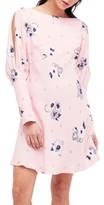 Free People Women's Sunshadows Slit Sleeve Minidress