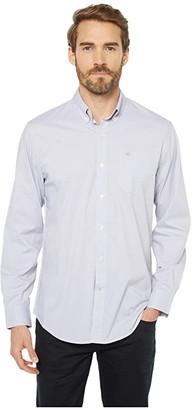 Dockers Long Sleeve Stretch Woven Shirt (Foil) Men's Clothing