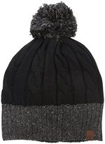 Timberland Men's Cable Knit Beanie with Pom