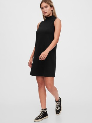 Gap Sleeveless Mockneck Dress