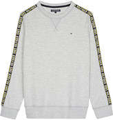 Tommy Hilfiger Logo trim cotton sweatshirt 4-16 years