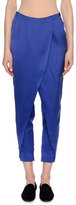 Giorgio Armani Satin Skirted Harem Pants, Royal Blue