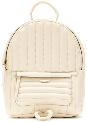Sarah Chofakian Padded Leather Backpack