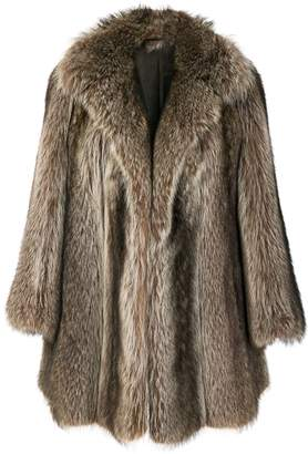 Christian Dior Pre-Owned possum fur coat