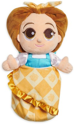 Disney Babies Belle Plush Doll in Pouch Beauty and the Beast Small 12''