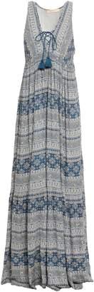 Vanessa Bruno Embellished Printed Gauze Maxi Dress
