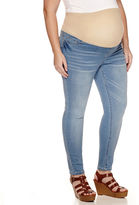 Asstd National Brand Skinny Jeans-Plus Maternity